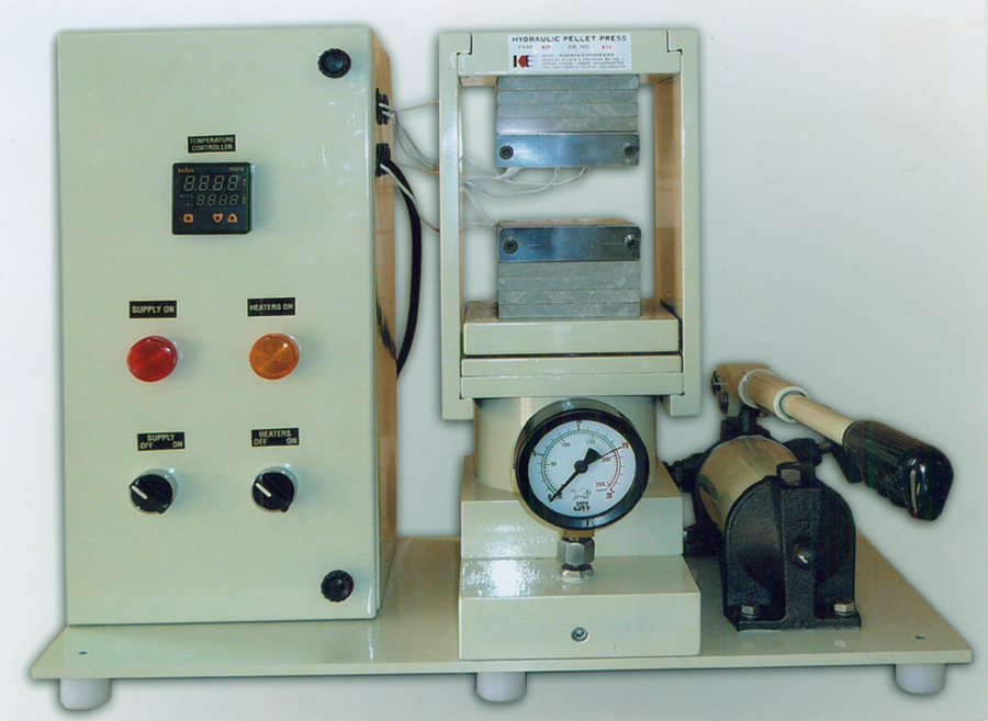 Heating Type Manual Lab. Press 15 Tons (Table top & Column Type)